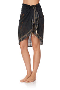 SHORT TASSEL SARONG COBRA KING
