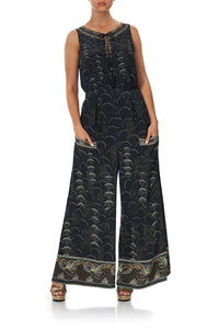 WIDE LEG TROUSER WITH FRONT POCKETS WISE WINGS