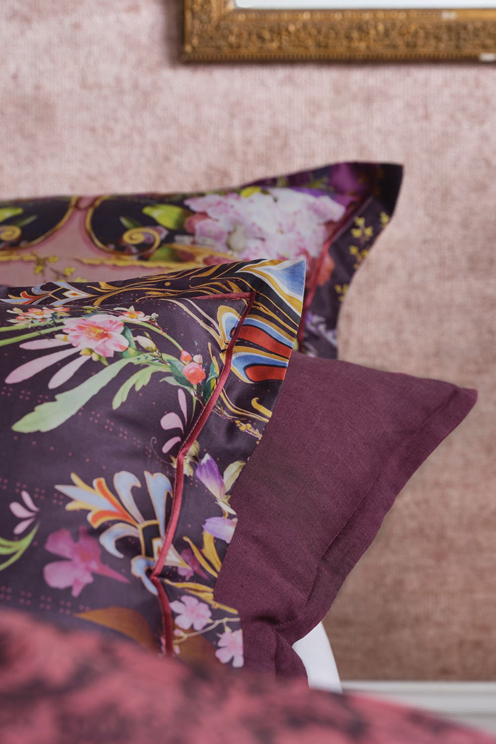 EUROPEAN PILLOWCASE WILD FLOWER