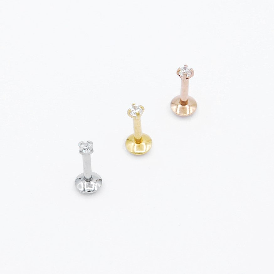 ARTIQO 'Tiny Brilliant' Piercingstecker - helloartiqo.com
