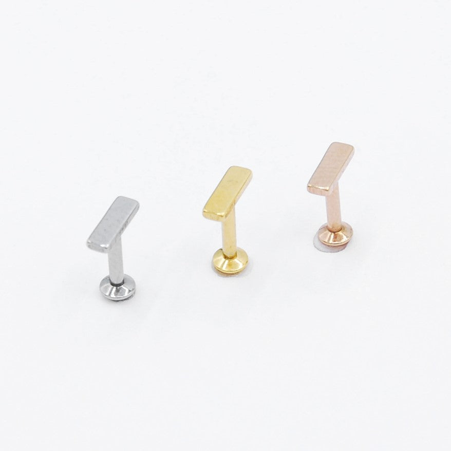 ARTIQO 'Geometric Bar' Piercingstecker - helloartiqo.com