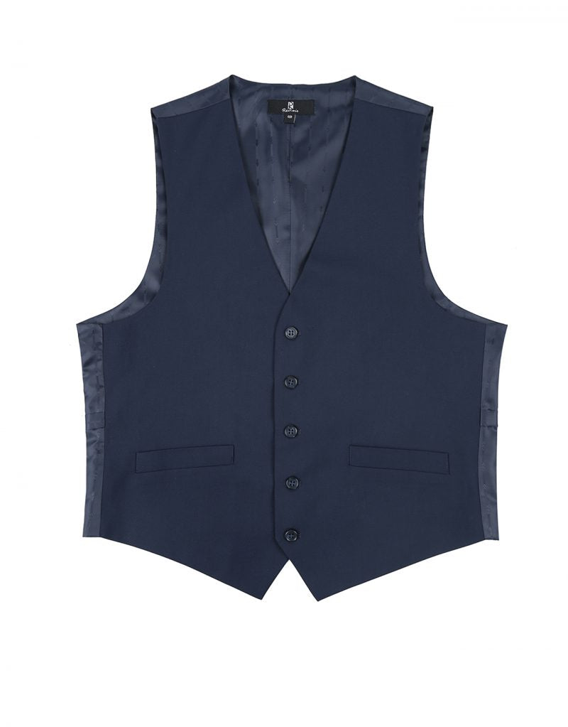French Blue Vest