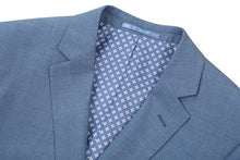 Load image into Gallery viewer, Light Blue Slim Fit 2 Pc Suit