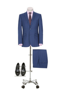 Pattern Slim Fit 2 Pc Suit