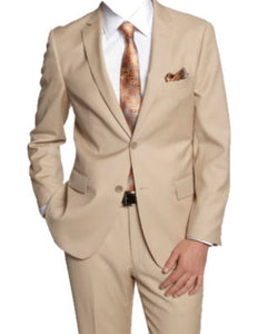 New Beige Suit Rental Package $129.99 - $199.99