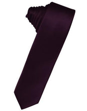Load image into Gallery viewer, Hunter Luxury Satin Skinny Necktie