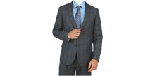 Load image into Gallery viewer, Grey Windowpane Suit