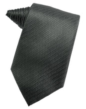 Load image into Gallery viewer, Haze Blue Herringbone Necktie