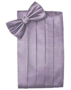 Heather Herringbone Cummerbund