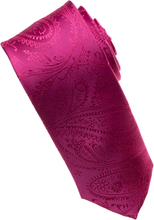 Load image into Gallery viewer, Dahlia Paisley Tone on Tone Necktie