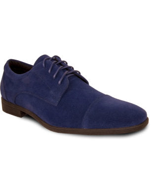 Men's Blue Dress Loafer Shoe