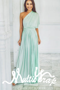 MINT MULTI WRAP DRESS
