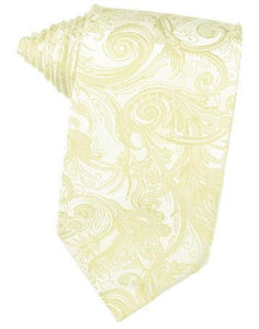 Canary Tapestry Satin Necktie