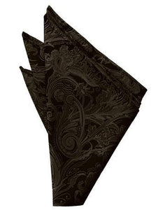 Chocolate Tapestry Pocket Square
