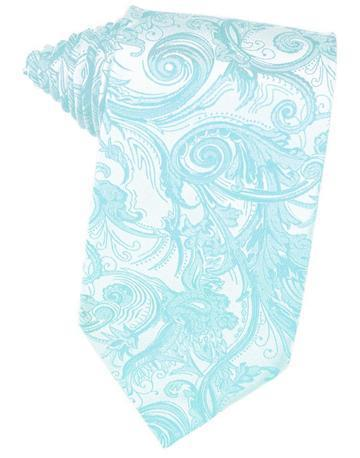 Pool Tapestry Satin Necktie