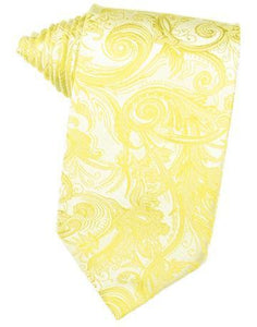 Sunbeam Tapestry Satin Necktie
