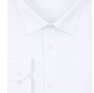 White Slim Fit Shirt