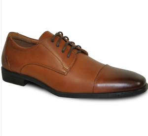 Brown Matte Dress Shoe