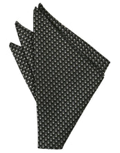 Load image into Gallery viewer, Sapphire Venetian Pin Dot Pocket Square