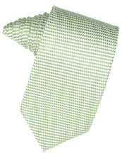Load image into Gallery viewer, Peach Venetian Pin Dot Necktie