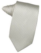 Load image into Gallery viewer, Ivory Venetian Pin Dot Necktie