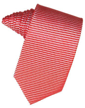 Load image into Gallery viewer, Hunter Venetian Pin Dot Necktie