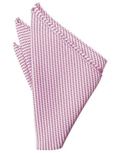 Load image into Gallery viewer, Rose Venetian Pin Dot Pocket Square