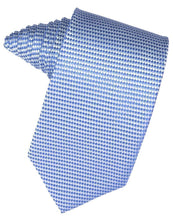 Load image into Gallery viewer, Sapphire Venetian Pin Dot Necktie