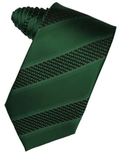 Load image into Gallery viewer, Mint Venetian Pin Dot Striped Necktie