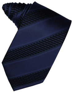 Autumn Venetian Pin Dot Striped Necktie