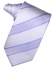 Load image into Gallery viewer, Royal Blue Venetian Pin Dot Striped Necktie