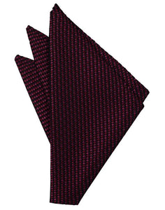 Black Venetian Pin Dot Pocket Square