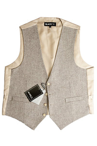 "Brown ""Brodie"" Tweed Vest"
