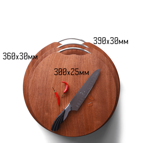 Solid Rich Mahogany Chopping Board