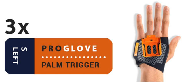 ProGlove Index Trigger 3 Pcs. Pack - Pick Right or Left and Pick Size (G006-X)