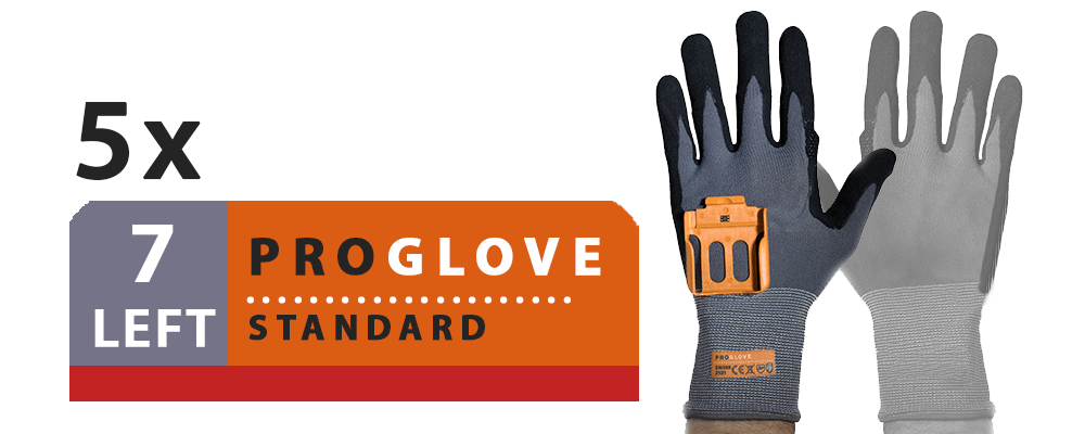 ProGlove Standard 5 Pairs Pack - Left Hand Size 7 (G001-7L)