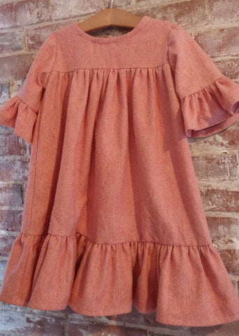Eugenie Children's Nightgown Sewing Pattern from Citronille