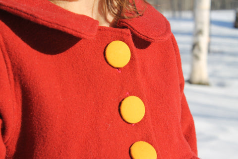 The Alice Coat from Citronille - Available in English