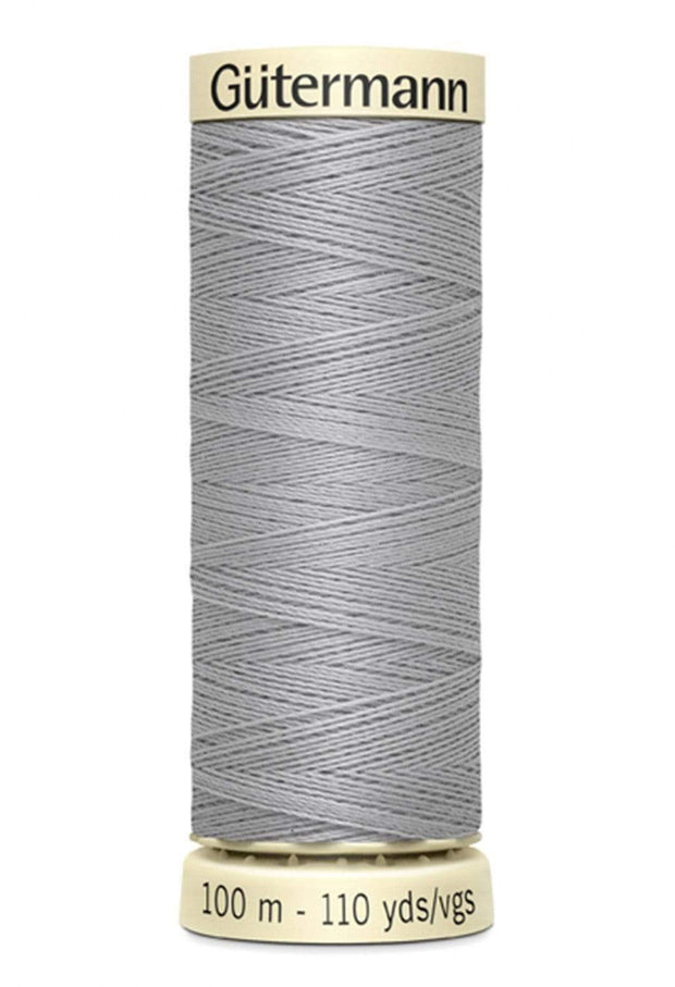 102 Mist Grey ~ Sew-All Gutermann Polyester Thread ~ 100 Meters