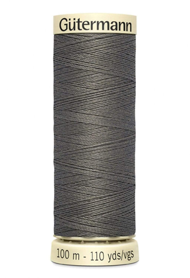 112 Gray ~ Sew-All Gutermann Polyester Thread ~ 100 Meters