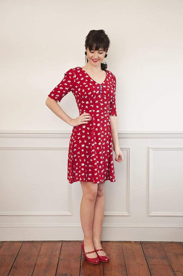 1940's Tea Dress, Sew Over It