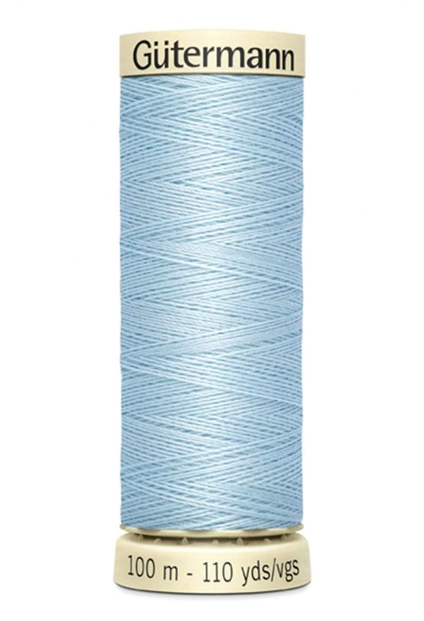207 Echo Blue ~ Sew-All Gutermann Polyester Thread ~ 100 Meters