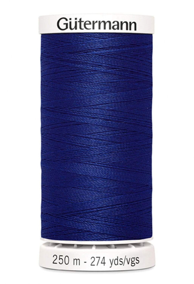 260 Royal Blue ~ Sew-All Gutermann Polyester Thread ~ 250 Meters