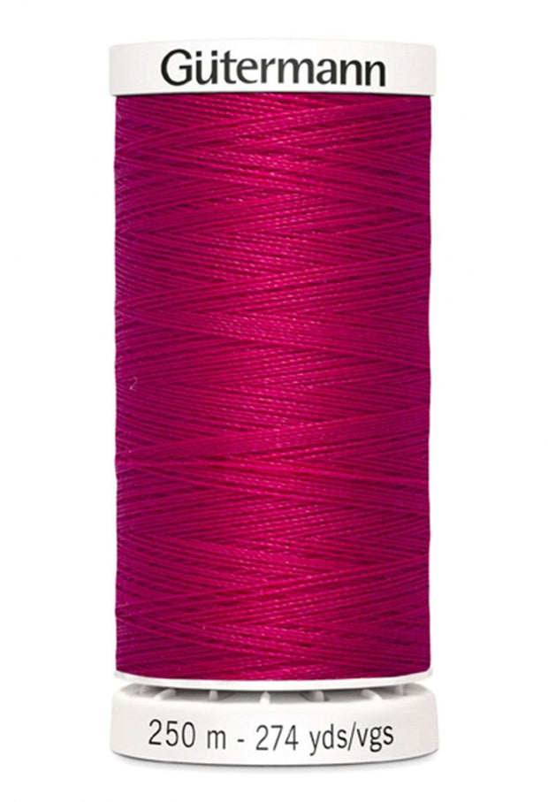 345 Raspberry ~ Sew-All Gutermann Polyester Thread ~ 250 Meters