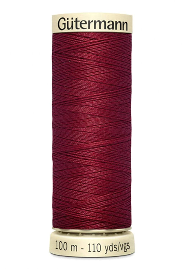 440 Claret ~ Sew-All Gutermann Polyester Thread ~ 100 Meters