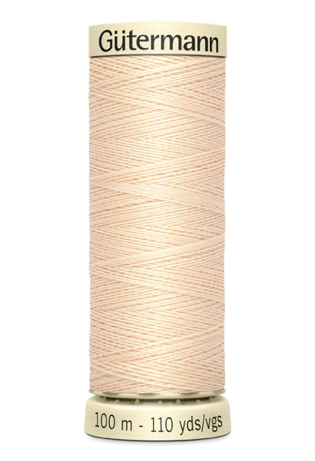 501 Pongee ~ Sew-All Gutermann Polyester Thread ~ 100 Meters