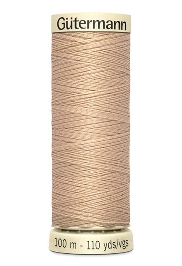 503 Flax ~ Sew-All Gutermann Polyester Thread ~ 100 Meters