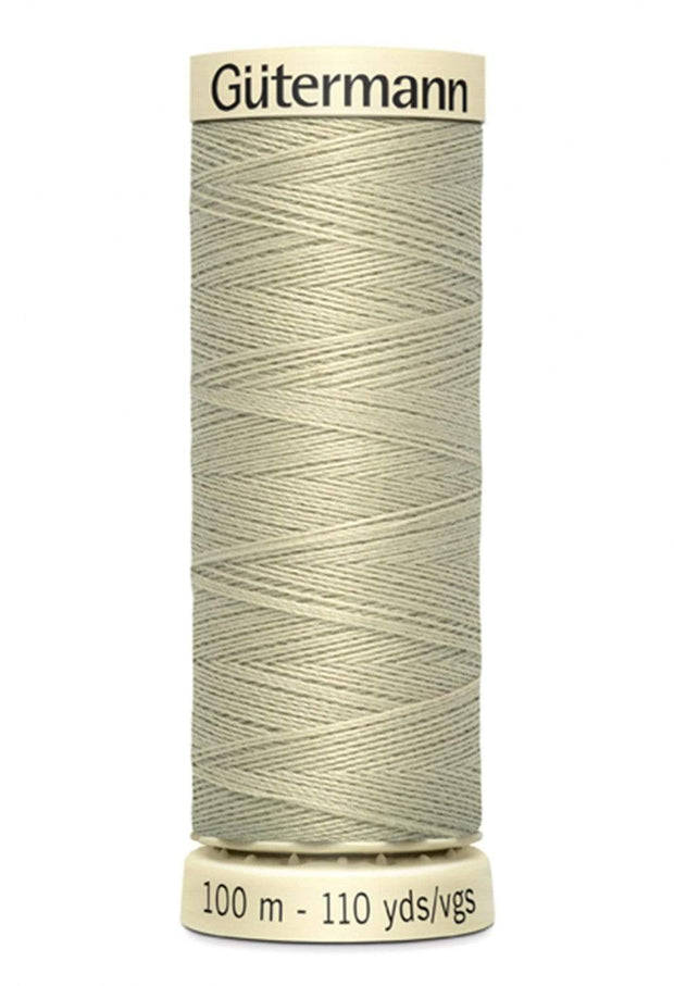 522 Cornsilk ~ Sew-All Gutermann Polyester Thread ~ 100 Meters