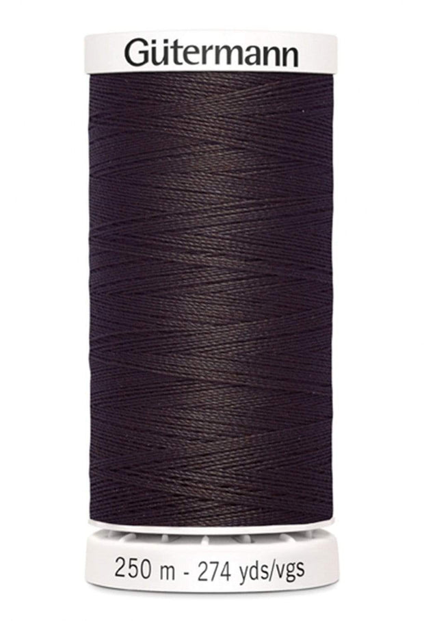 593 Seal Brown ~ Sew-All Gutermann Polyester Thread ~ 250 Meters