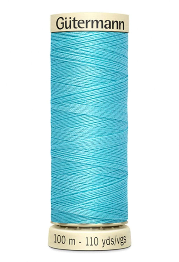 618 Crystal Blue ~ Sew-All Gutermann Polyester Thread ~ 100 Meters